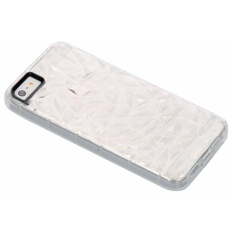Image of Transparante geometric style siliconen case voor de iPhone 5 / 5s / SE