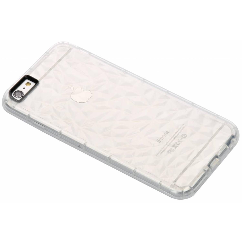 Image of Transparante geometric style siliconen case voor de iPhone 6(s) Plus