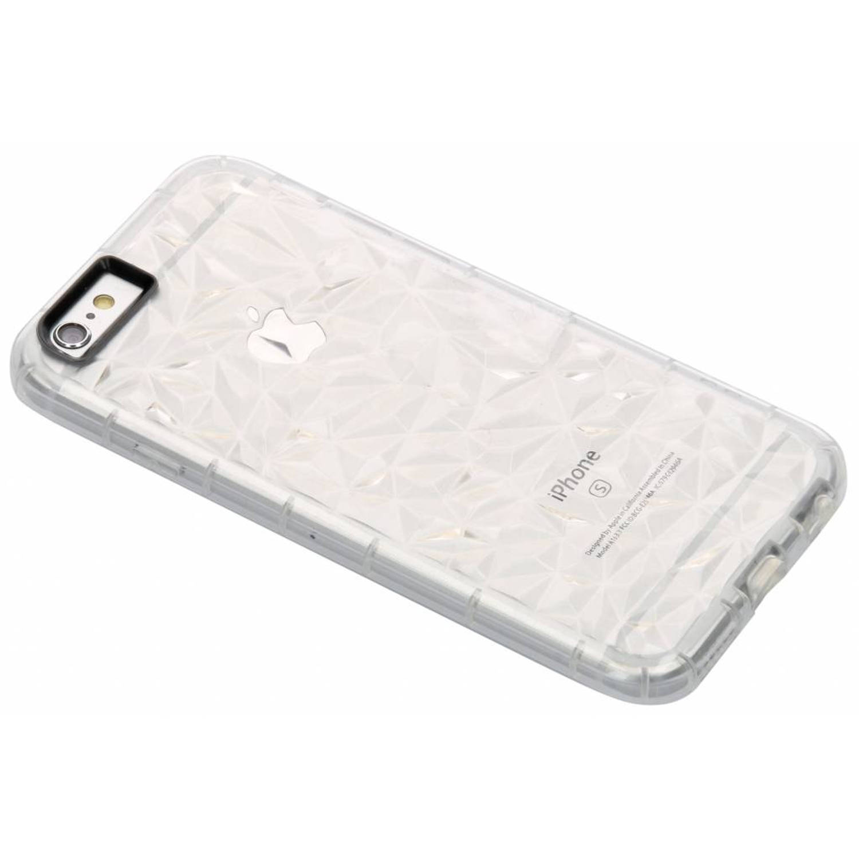 Image of Transparante geometric style siliconen case voor de iPhone 6 / 6s