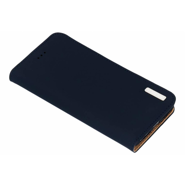 Blauwe Genuine Leather Case voor de iPhone 6(s) Plus