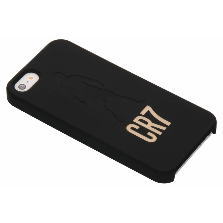 Zwarte / Gouden CR7 Freekick Edition Silicone Case voor de iPhone 5 / 5s / SE