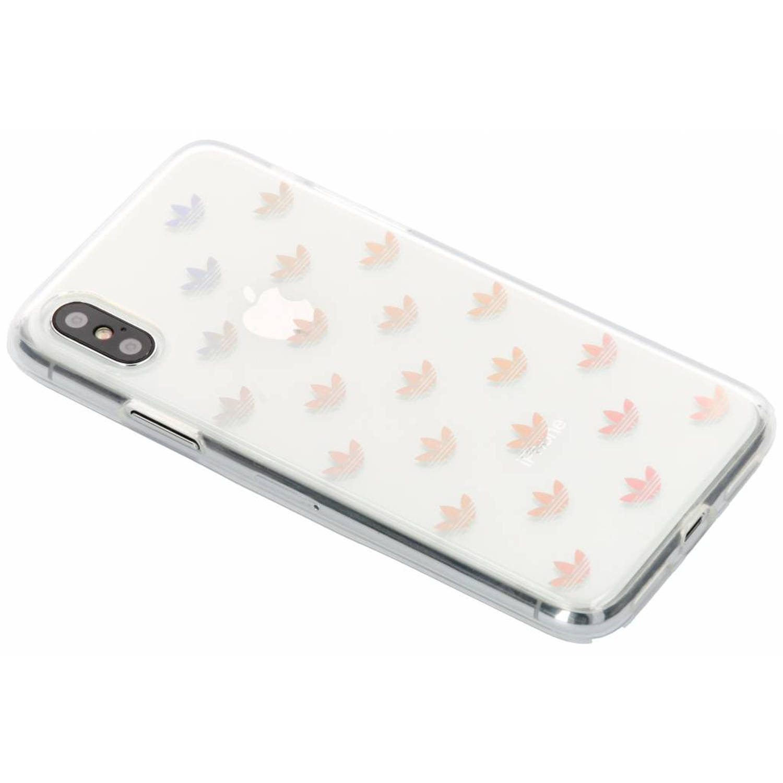 Transparante Trefoil Clear Case voor de iPhone X