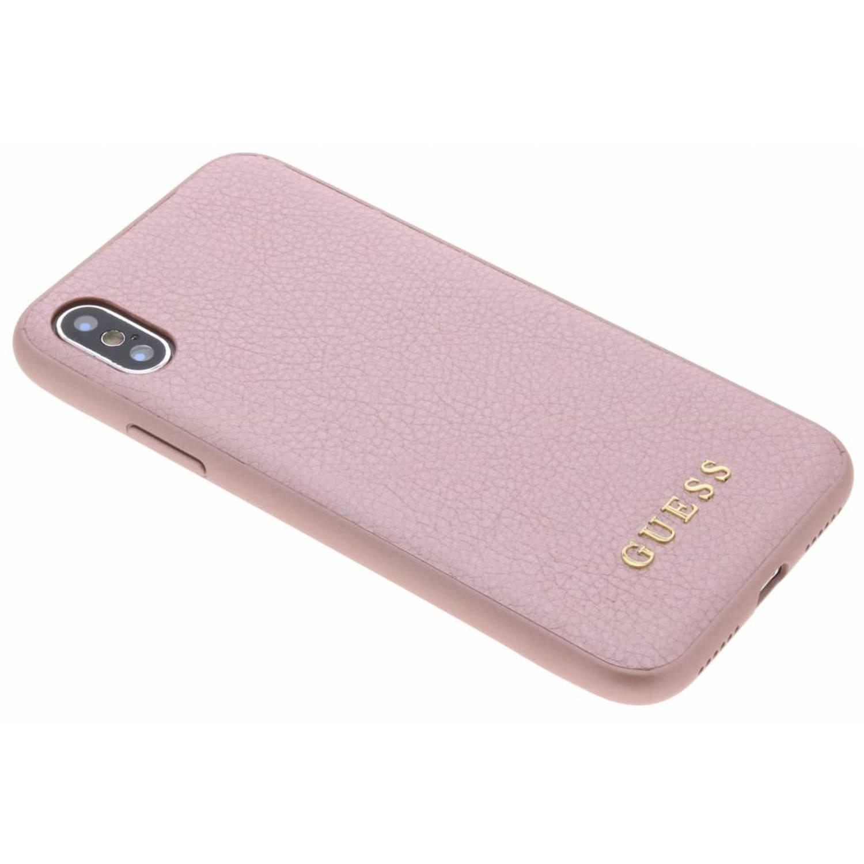 Roze iriDescent Hardcase voor de iPhone Xs / X