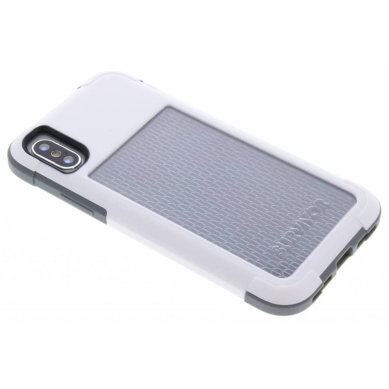 Witte Survivor Fit Case voor de iPhone Xs / X