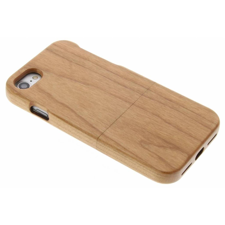 Bruin echt houten hardcase hoesje voor de iPhone 7