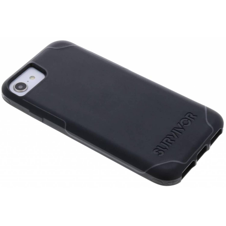 Zwarte Survivor Strong Case voor de iPhone 8 / 7 / 6s / 6