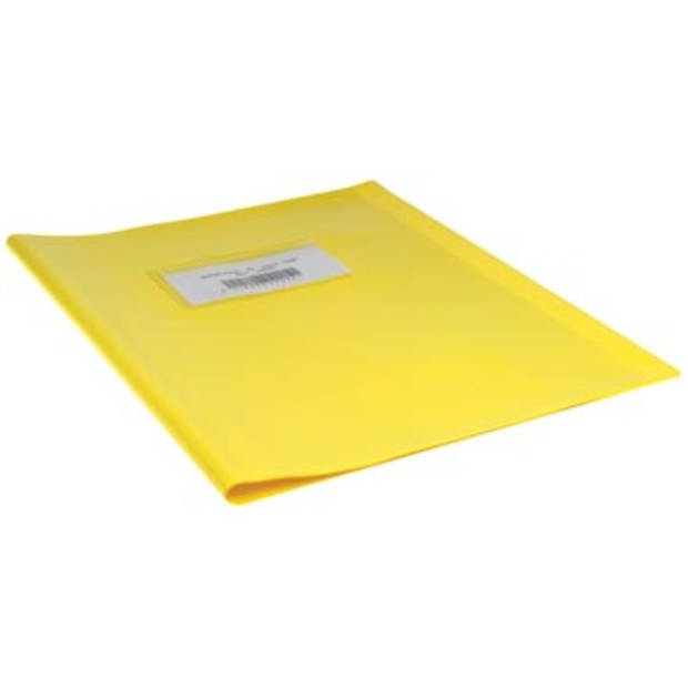 schriftomslagen geel, ft schrift 16,5 x 21 cm