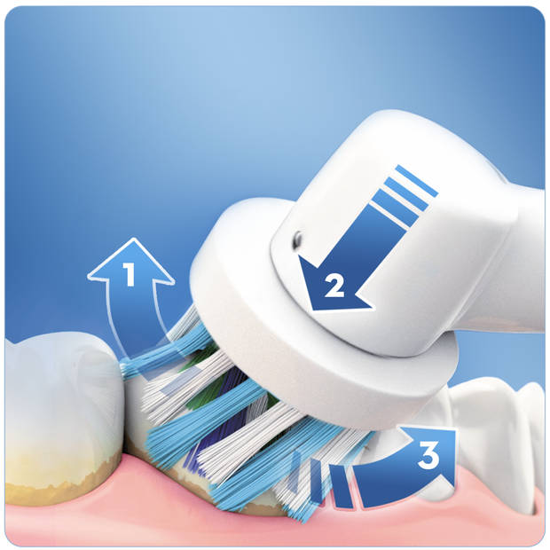 Oral-B Smart 4 4000N Wit - Elektrische Tandenborstel