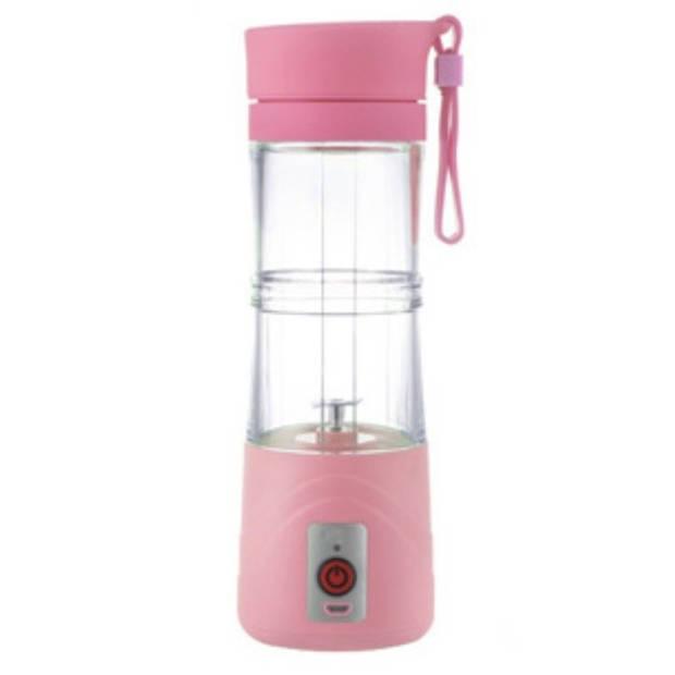Draadloze blender - 380ml - Roze