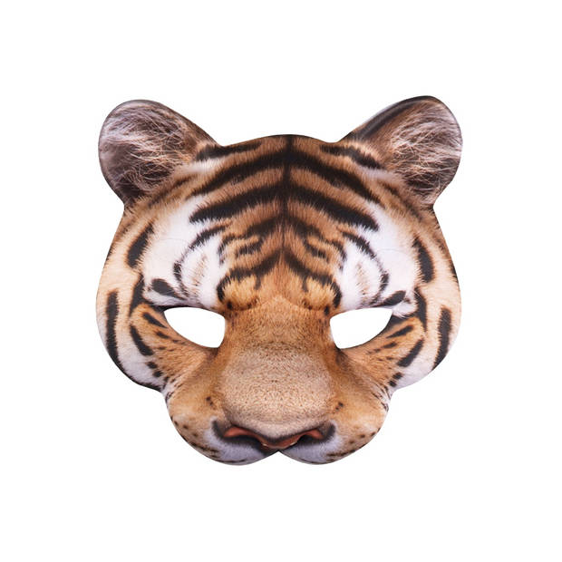 Boland halfmasker dieren tijger