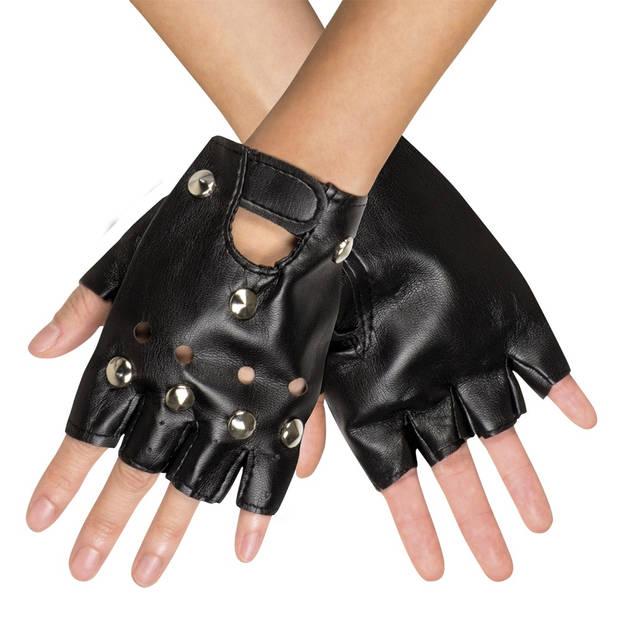 Boland handschoenen Biker heren zwart