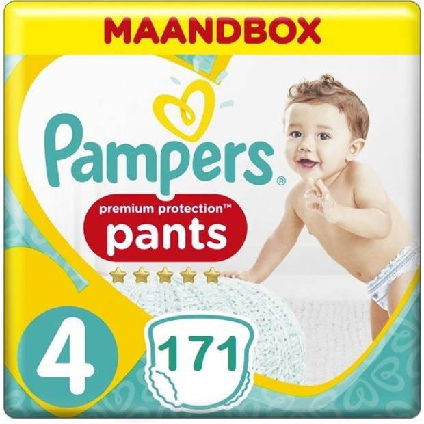 Pampers Premium Protection Pants Active fit Maat 4 Luierbroekjes 171 stuks