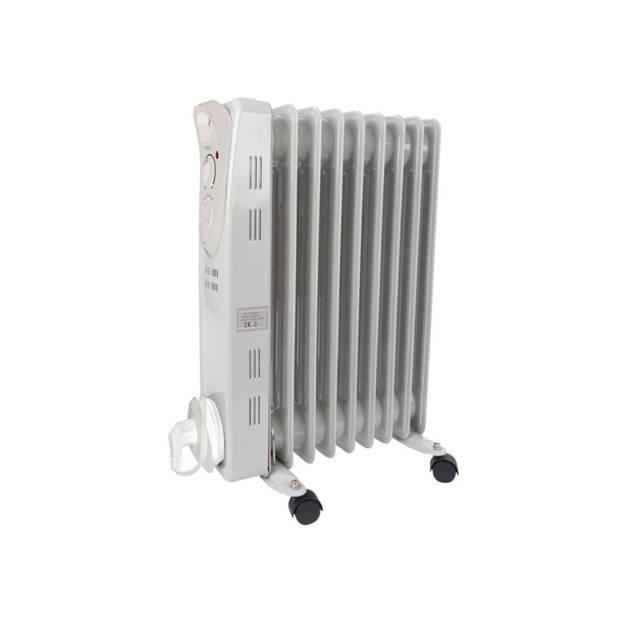 Oliebadradiator - 2000 W - 9 ribben