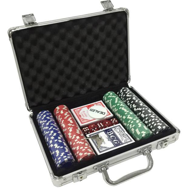 Poker koffer: 200-delig