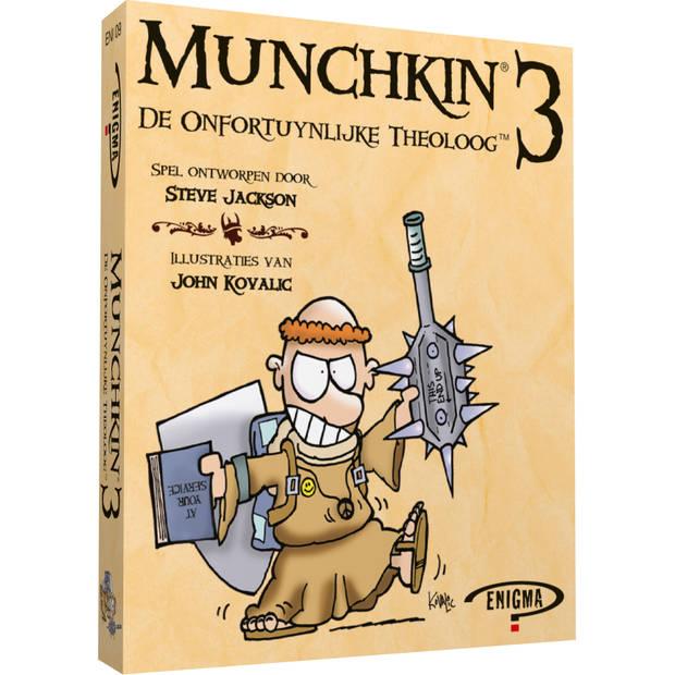 Munchkin 3 - De Onfortuinlijke Theoloog - Kaartspel Bergsala Enigma