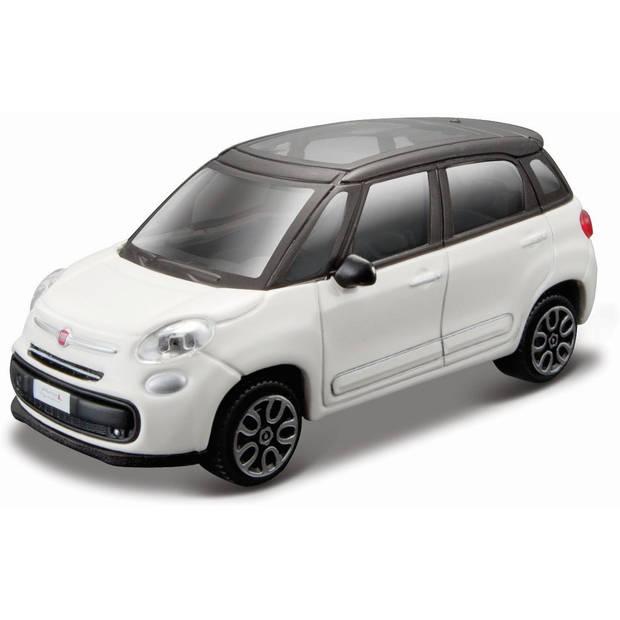 Auto Bburago Fiat 500L schaal 1:43