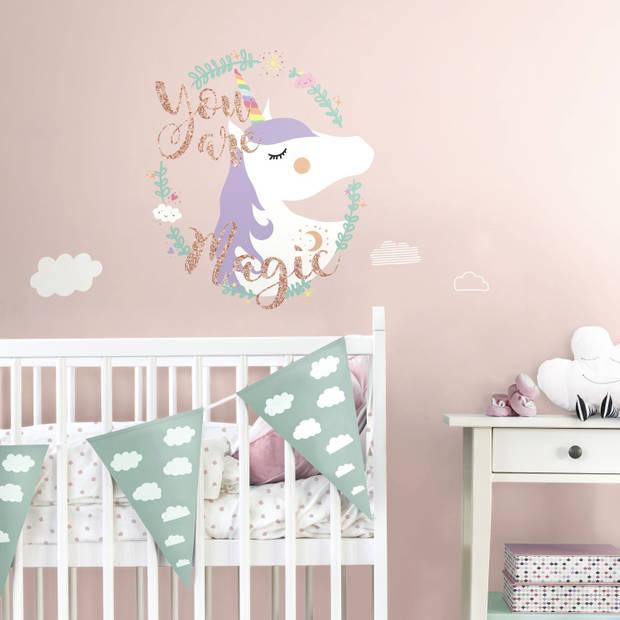 Muursticker RoomMates Unicorn