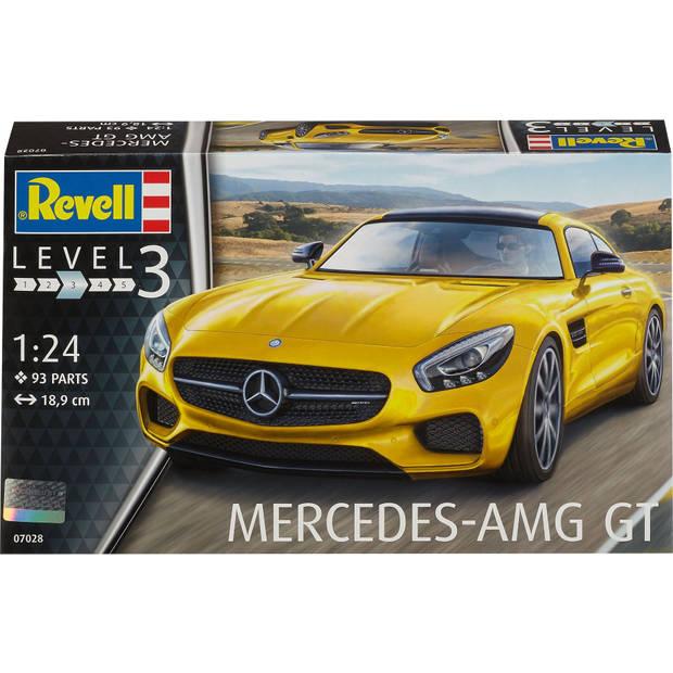 Mercedes Benz AMG GT Revell - schaal 1 -24 - Bouwpakket Revell Voertuigen