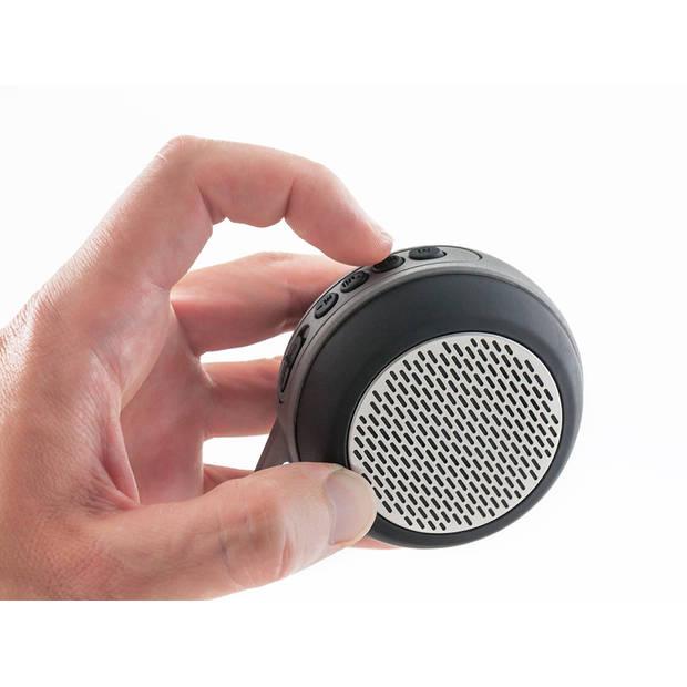 Caliber Bluetooth Speaker - Zwart/Grijs (HPG326BT)