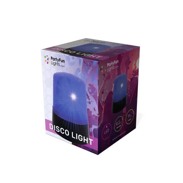 PartyFunLights zwaailicht - politie - discolamp - blauw