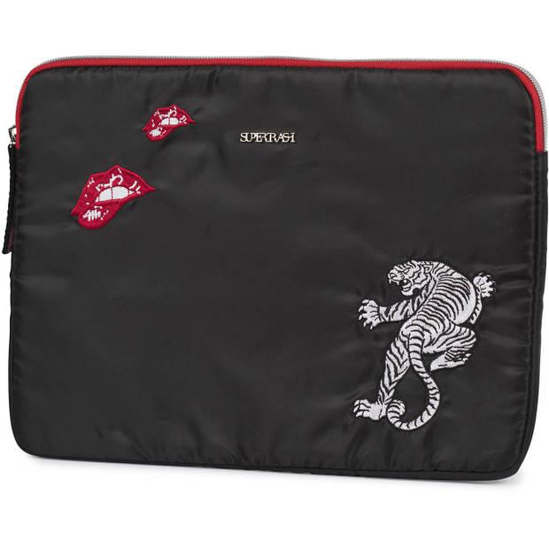 Tablet sleeve Supertrash black 25x33x2cm