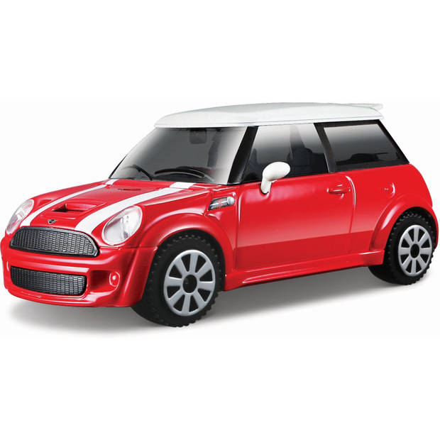 Auto Bburago Mini Cooper S schaal 1:43