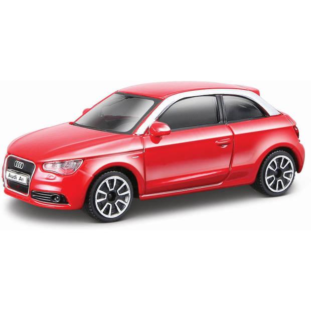 Auto Bburago Audi A1 schaal 1:43