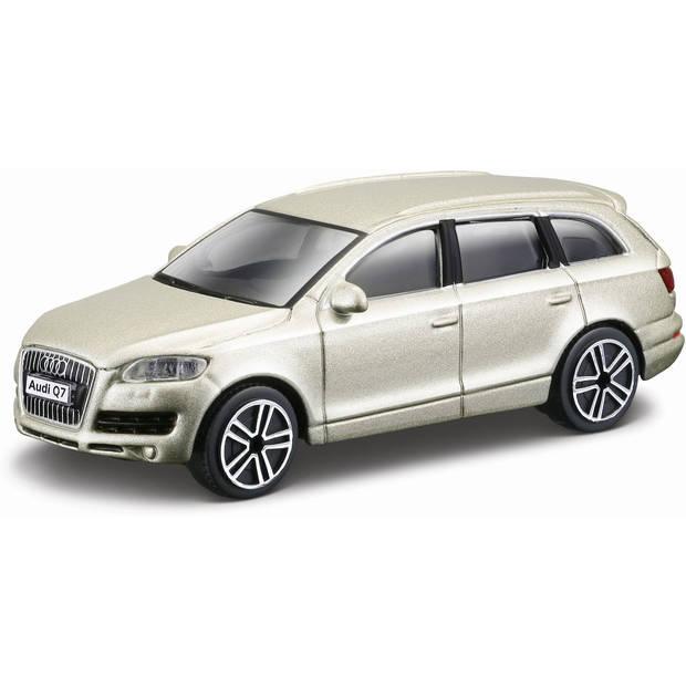 Auto Bburago Audi Q7 schaal 1:43