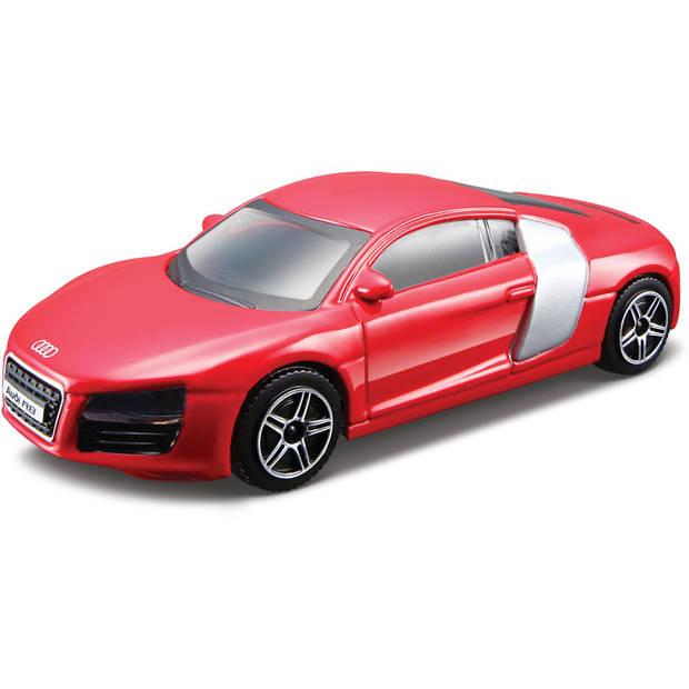 Auto Bburago Audi R8 schaal 1:43