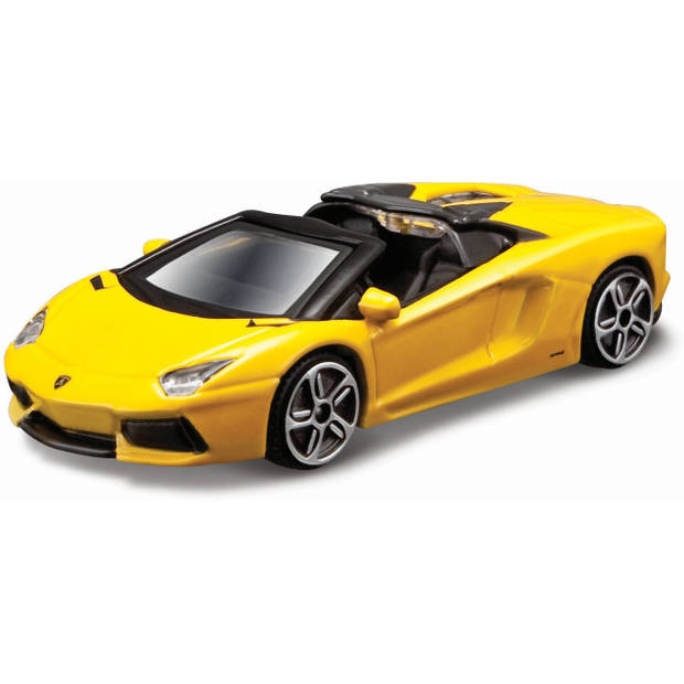 Auto Bburago Lamborghini Aventador schaal 1:43