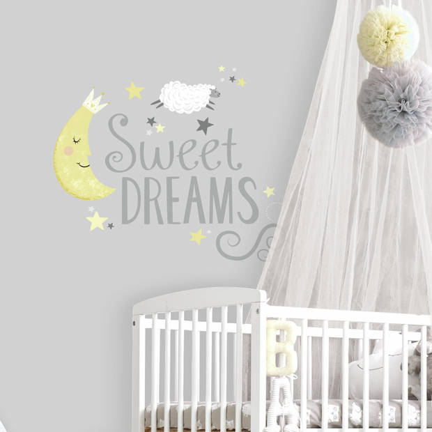 Muursticker RoomMates Sweet Dreams