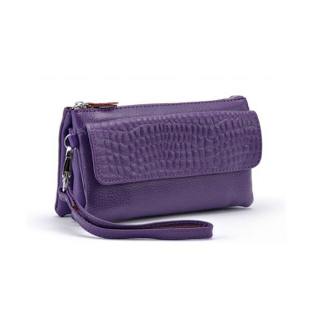Multifunctionele portemonnee - paars
