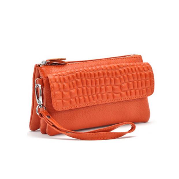 Multifunctionele portemonnee - oranje