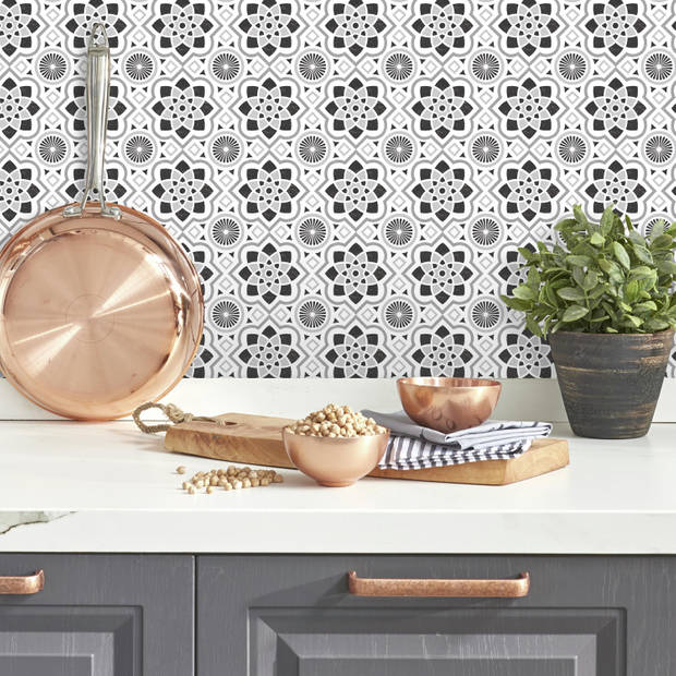 Muursticker RoomMates - Spanish Tile RoomMates