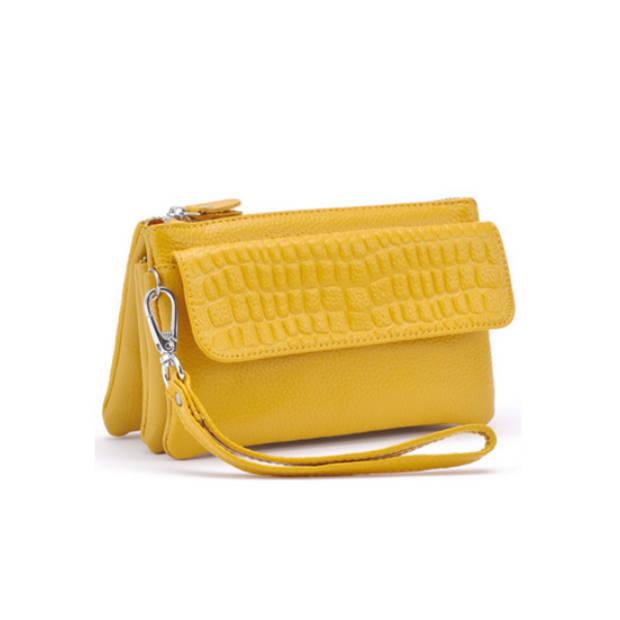 Multifunctionele portemonnee - geel
