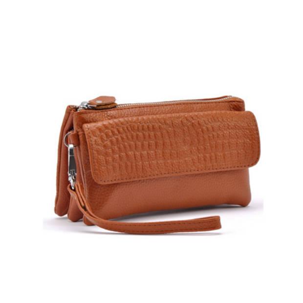 Multifunctionele portemonnee - bruin