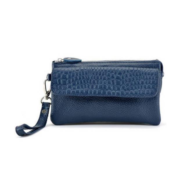 Multifunctionele portemonnee - donkerblauw