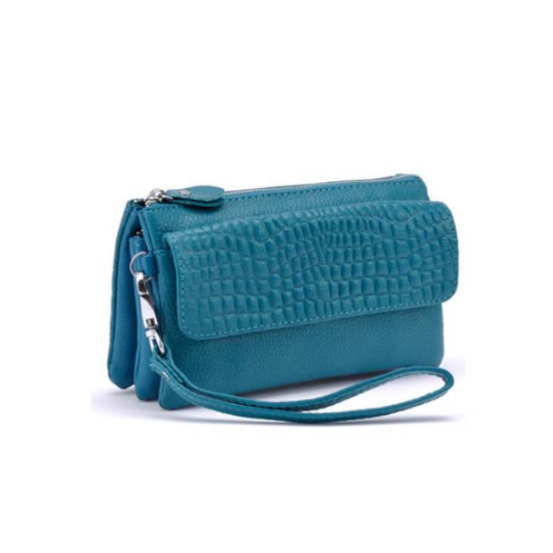 Multifunctionele portemonnee - blauw