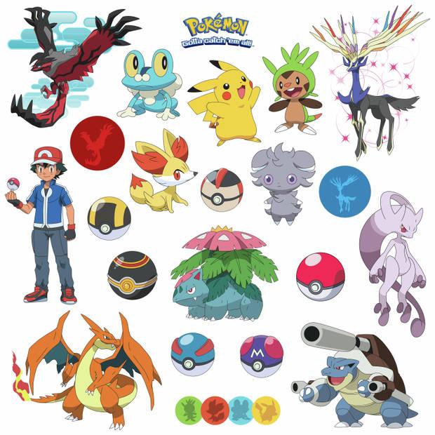 Muursticker Pokemon RoomMates XY