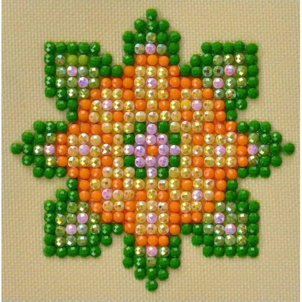 Flower Mandala 1 Diamond Dotz - 7x7 cm - Diamond Painting
