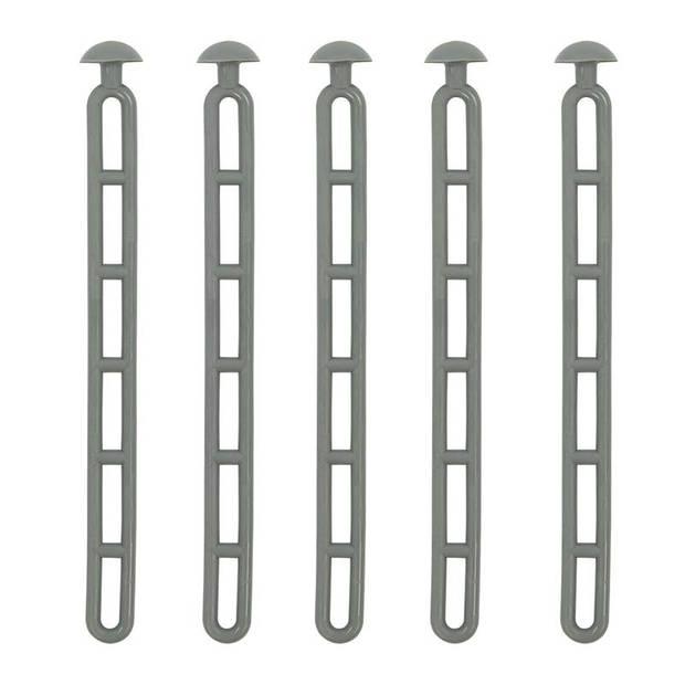 ProPlus trapspanner met knop 23,5 cm rubber set van 5 stuks