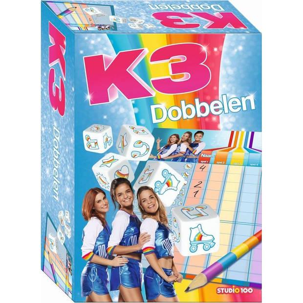 Studio 100 dobbelspel K3 Rollerdisco meisjes (NL)