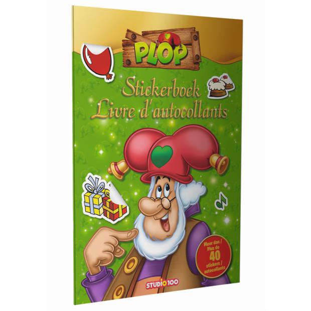 Kabouter Plop Stickerboek