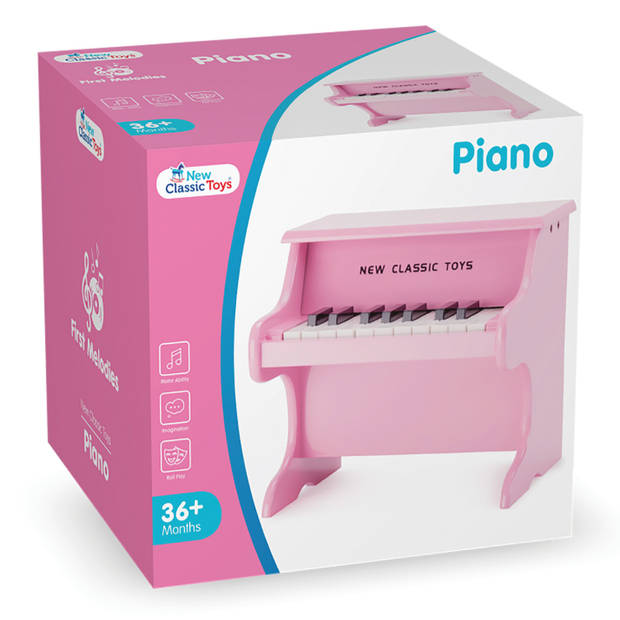 Piano roze New Classic Toys 29x28x25 cm