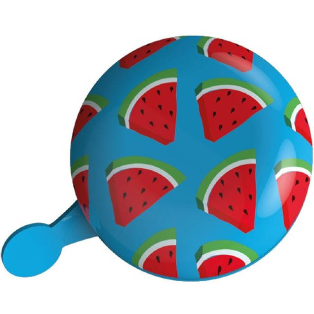 Fietsbel Ding Dong Urban Proof 8 cm watermeloen