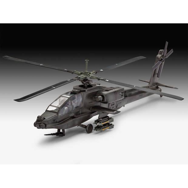 AH-64A Apache Revell - schaal 1 -100 - Bouwpakket Revell Helikopters