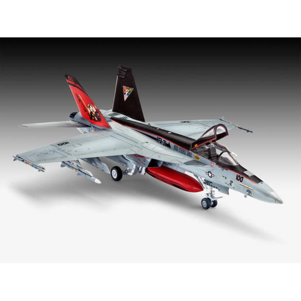 F/A-18E Super Hornet Revell - schaal 1 -144 - Bouwpakket Revell Luchtvaart