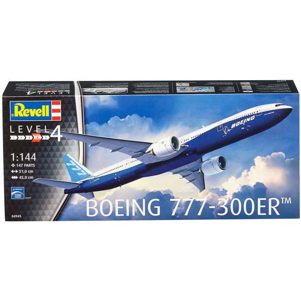 Boeing 777-300ER Revell - schaal 1 -144 - Bouwpakket Revell Luchtvaart