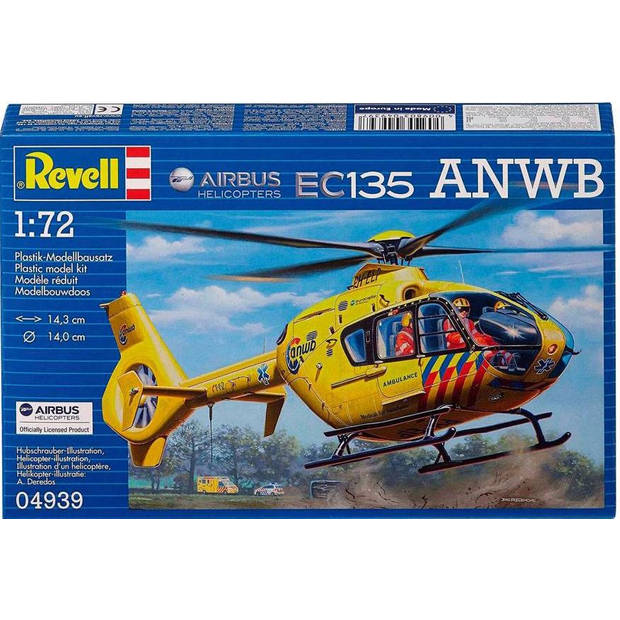 Airbus Helicopters EC135 ANWB Revell - schaal 1 -72 - Bouwpakket Revell Helikopters
