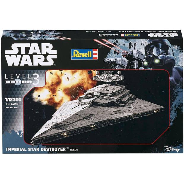 Imperial Star Destroyer Revell - schaal 1 -12300 - Bouwpakket Revell Star Wars